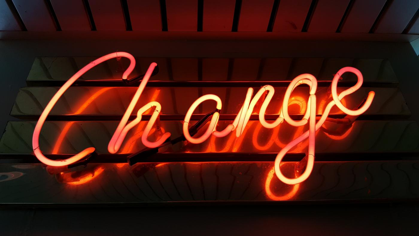 Giving Credit V:  Harnessing Change to Your Advantage