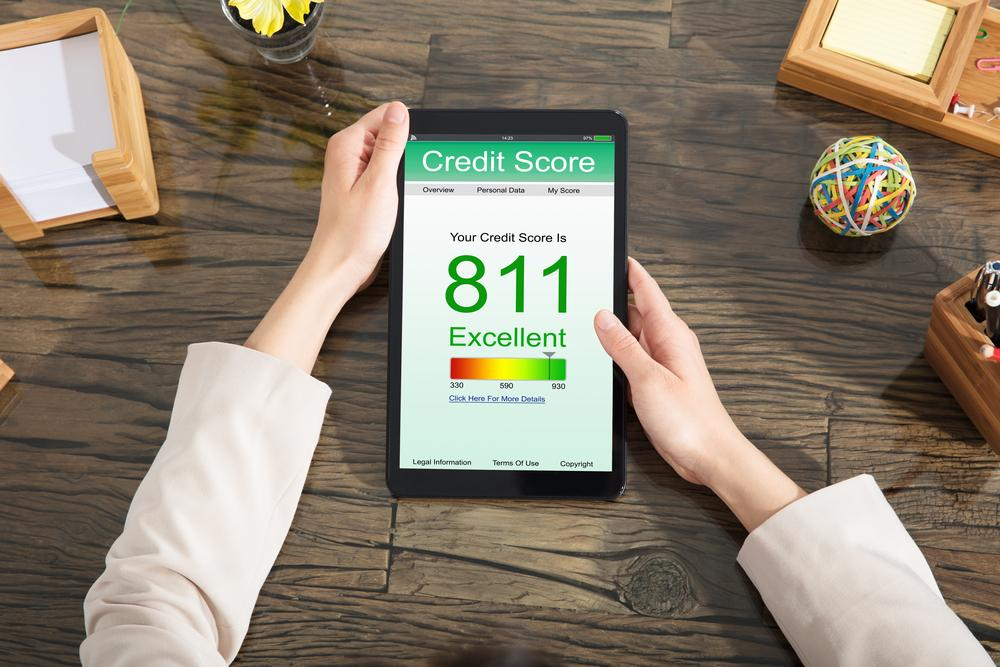 Soft pull credit check and consumer credit score